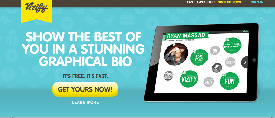 Vizify Has Officially Launched