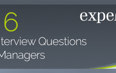 [INFOGRAPHIC] The Top 6 Types of Interview Questions for Senior Managers