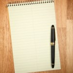Pad of Paper & Pen