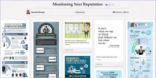 pinterest monitoring your reputation