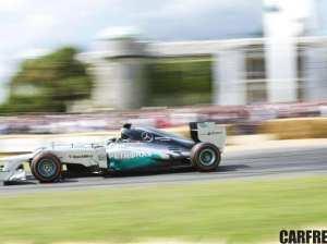 MERCEDES AMG PETRONAS Formula One car