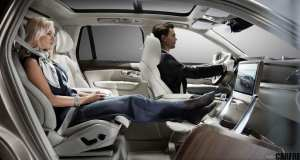 The all-new Volvo XC90 Excellence Lounge Console Concept