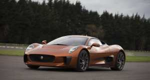 Felipe Massa Drives Bond Villain's Jaguar C-X75 Supercar