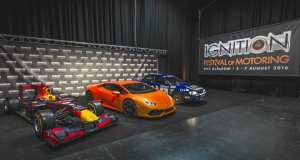 F1, rally and showroom models will all be at IGNITION