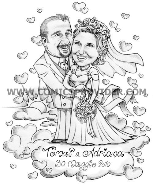 sposi sulle nuvole