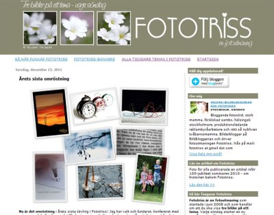 Fototriss