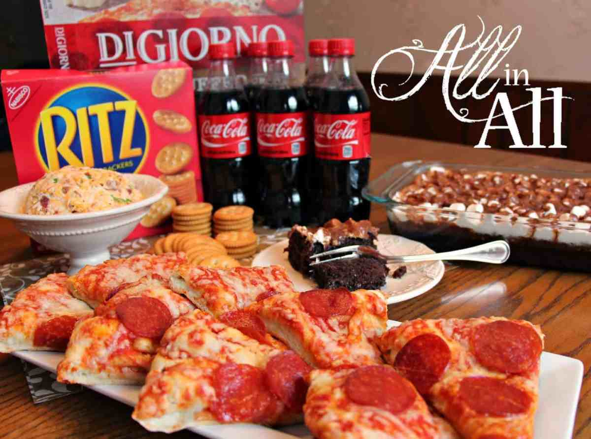 Ready for the Big Game with Digiorno, Ritz, and Coca-Cola