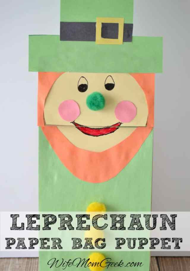 Leprechaun-Paper-Bag-Puppet