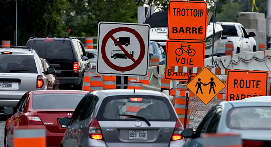 congestion, construction, collusion, corruption à Montréal