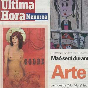 «Maó será durante cuatro días la capital del Arte Urbano»