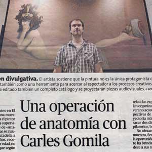 «El Roser disecciona la obra de Gomila»