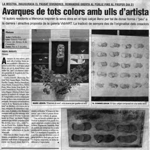 «Avarques de tots colors amb ulls d'artista»