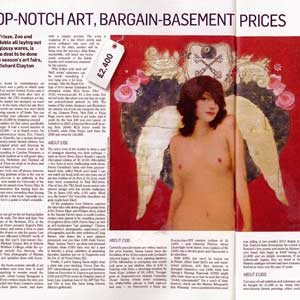 «Top-notch art, bargain-basement prices»