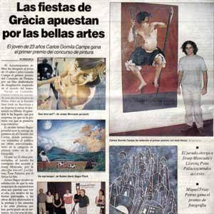 «Las fiestas apuestan por las bellas artes»