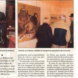 «XVII premi de pintura de Sa Nostra»