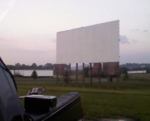 Stardust Drive-In screen