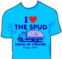 I Love the Spud T-shirt