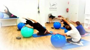Pilates osteon dolor lumbar