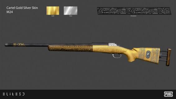 PUBG_Weapon-Skins-Cartel-Gold-Silver_M24_Final