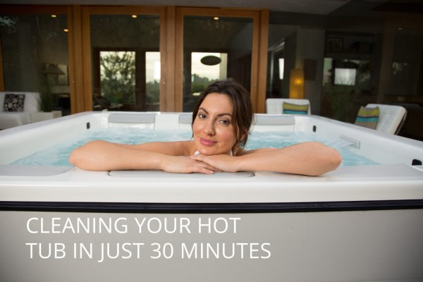 Cleaning your hot tub