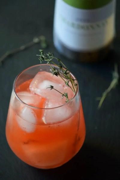 Raspberry Wine Mojito + Baby Shower Tips