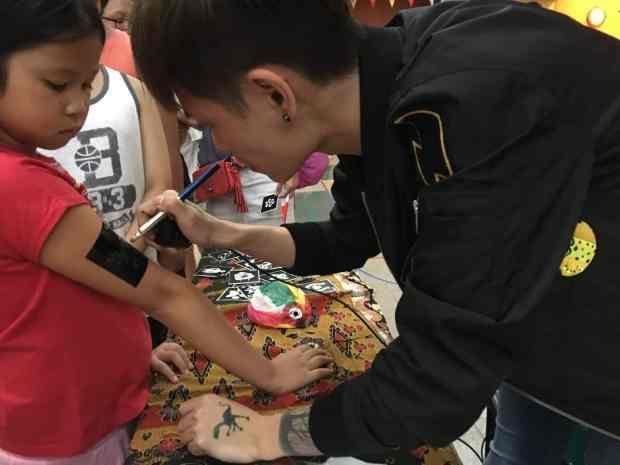 Airbrush Tattoo Artist Singapore