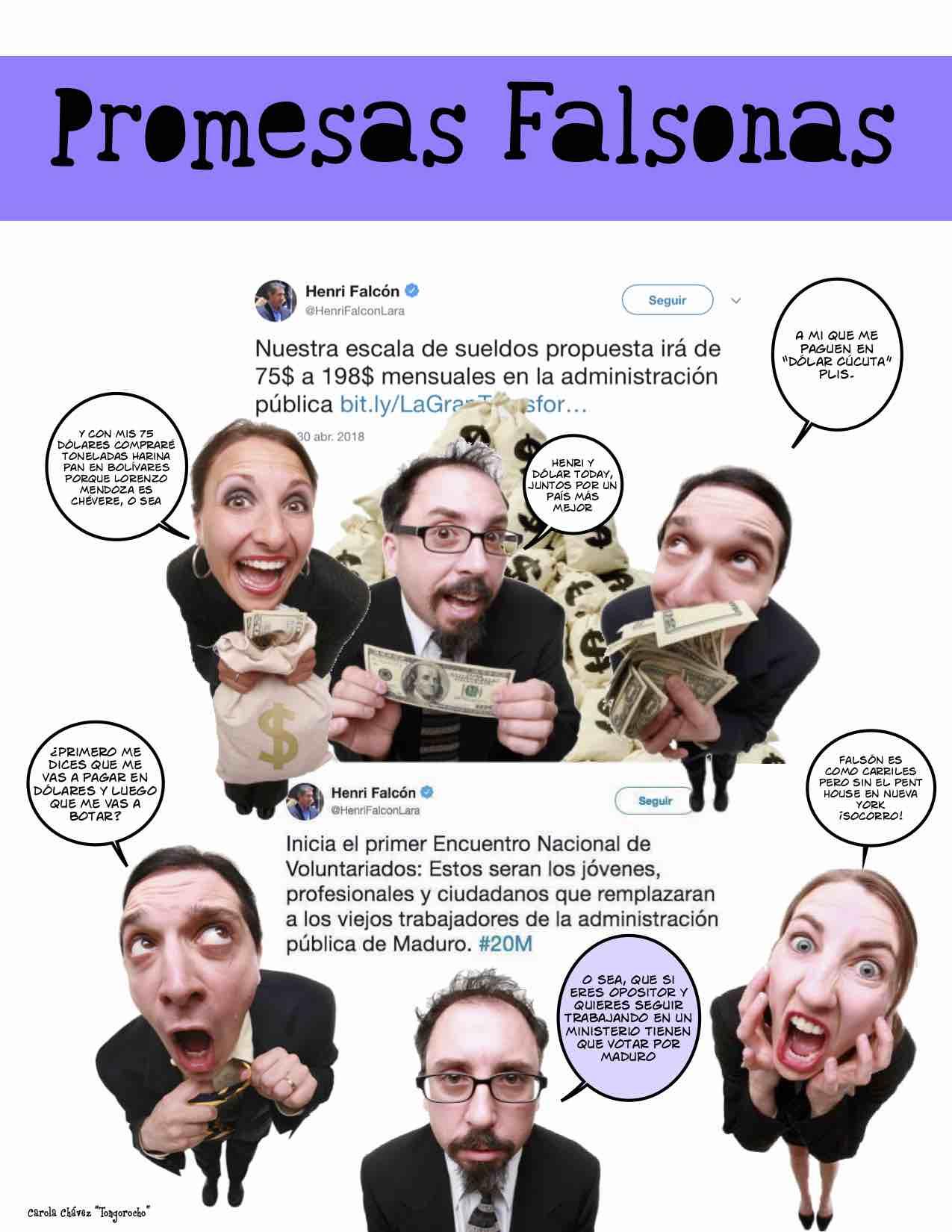 Promesas falsonas