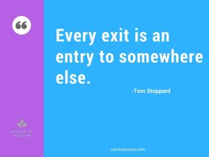 What exits really are