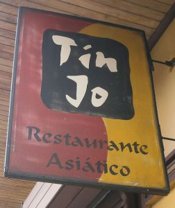 Asian restaurant in San Jose, Costa Rica