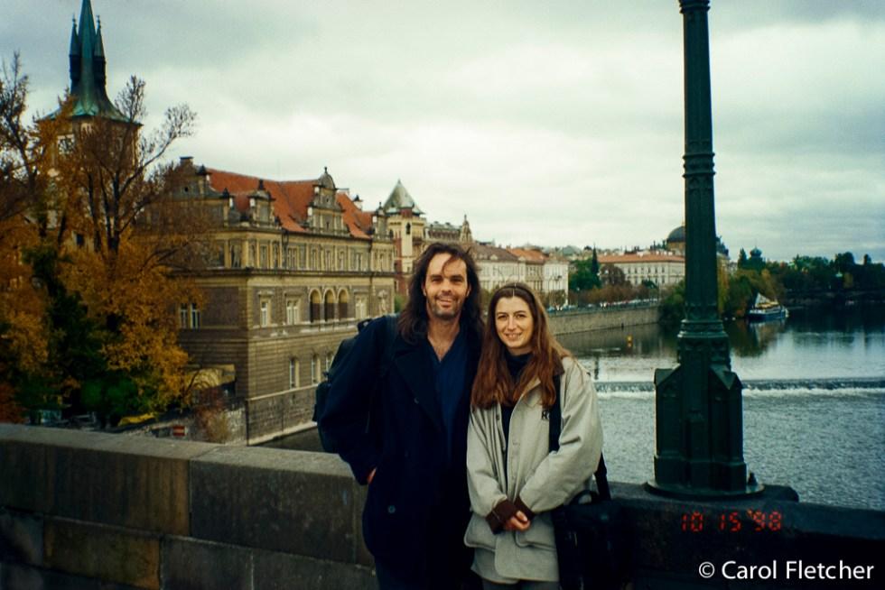 Bryan & Carol in Prague