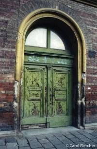 Old Budapest door