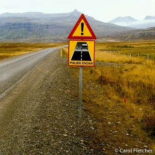 Roads in Iceland - !