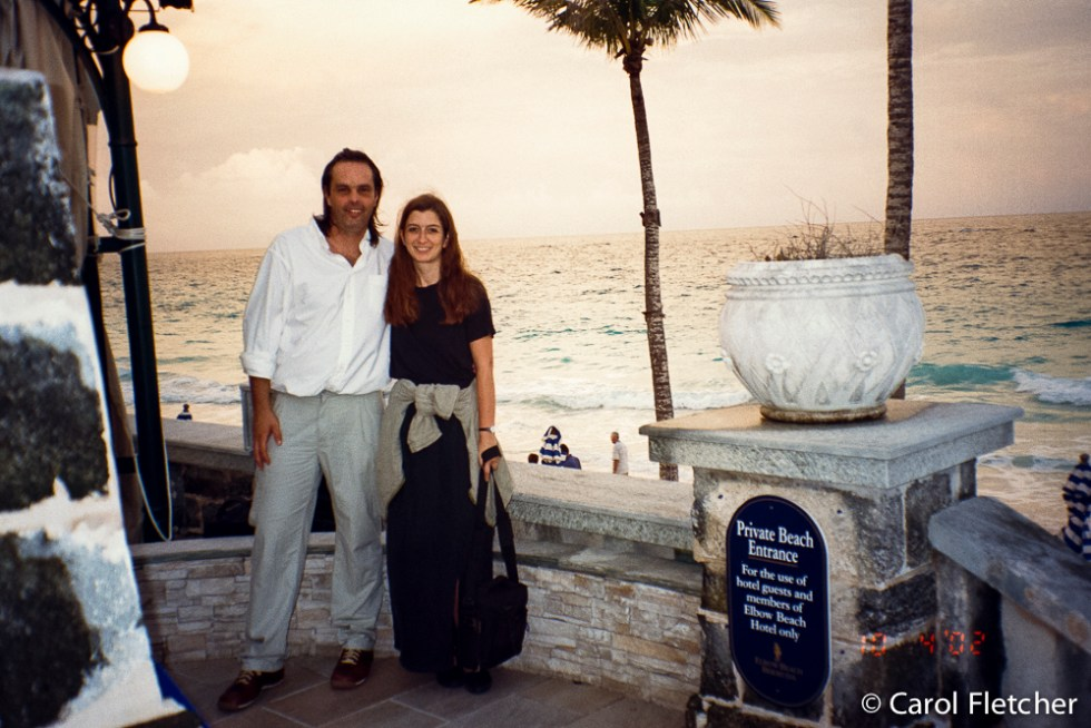 A media trip to Bermuda for Carol and Bryan
