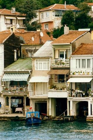 Asia side of Bosphorus, near the Black Sea