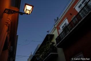 Evening San Juan