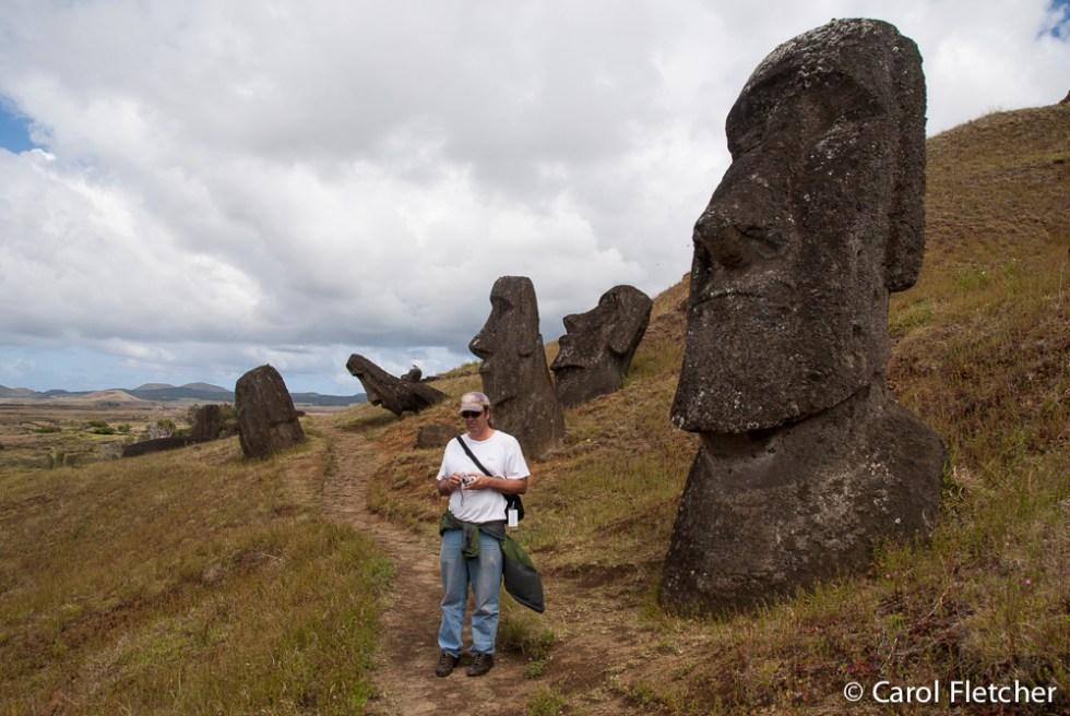 Bryan and Moai