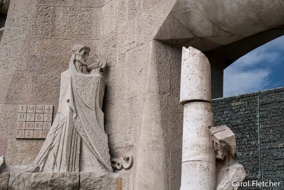 Judas Kiss and Magic Square at Sagrada Familia