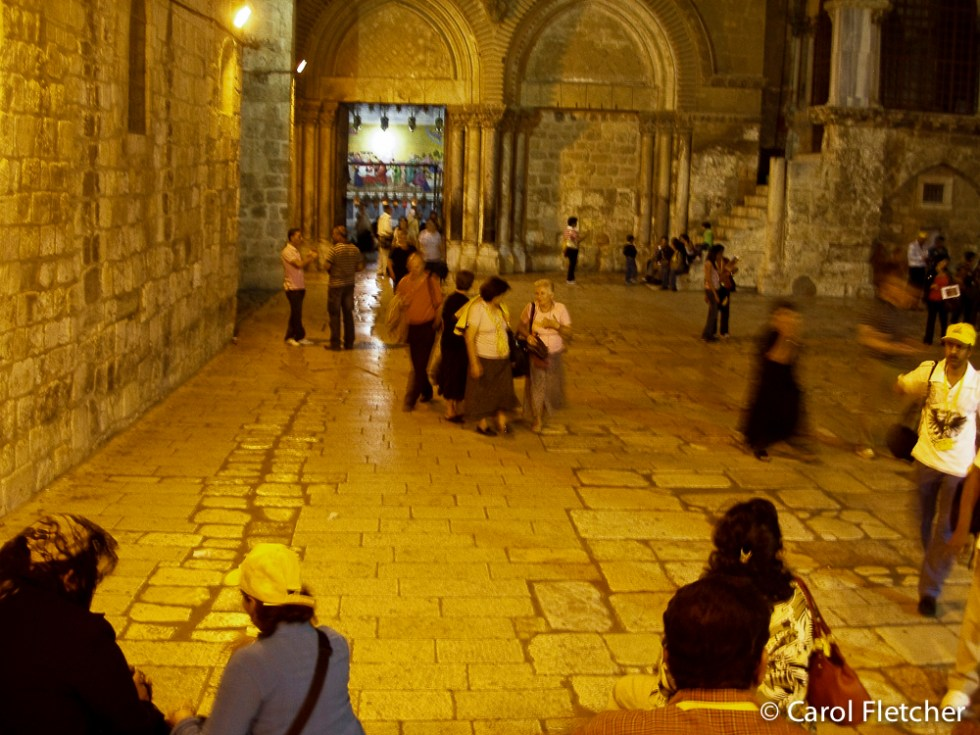 Holy Sepulchre - 1st night