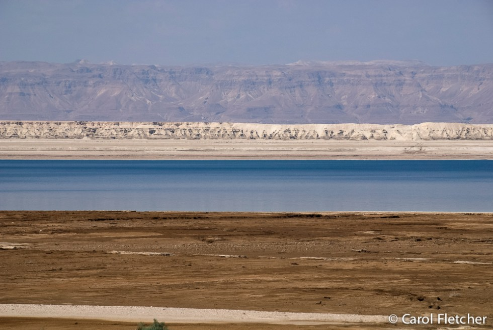 The colors of the Dead Sea