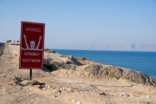 The Dead Sea warning