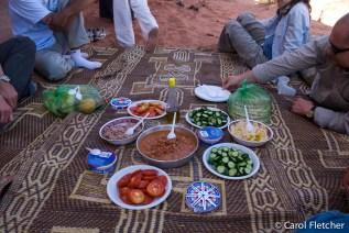 Picnic, bedouin style