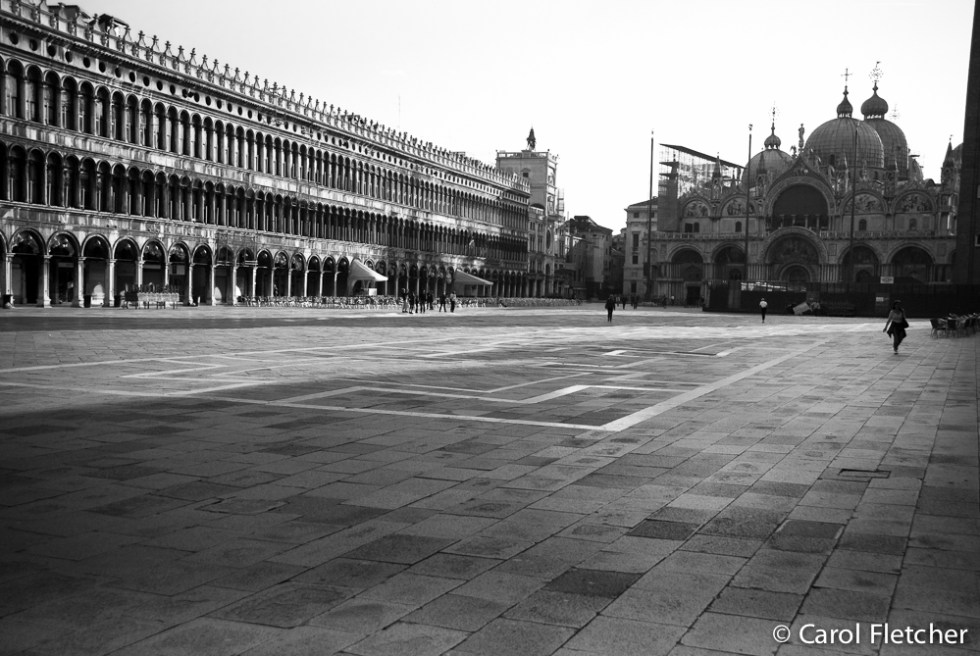 San Marco Square at daybreak