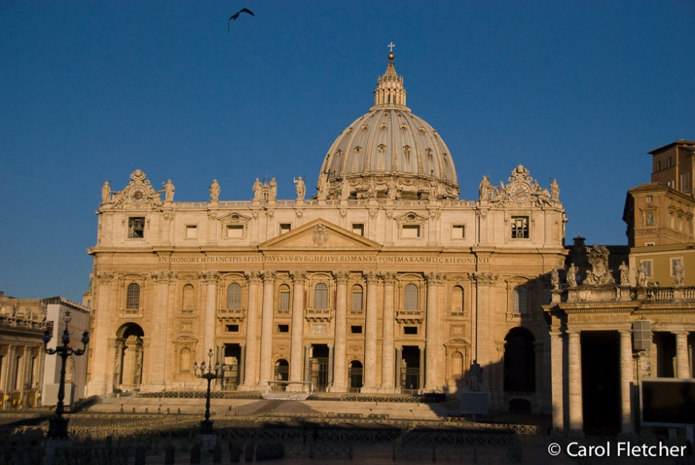 The Vatican at 7 a.m.