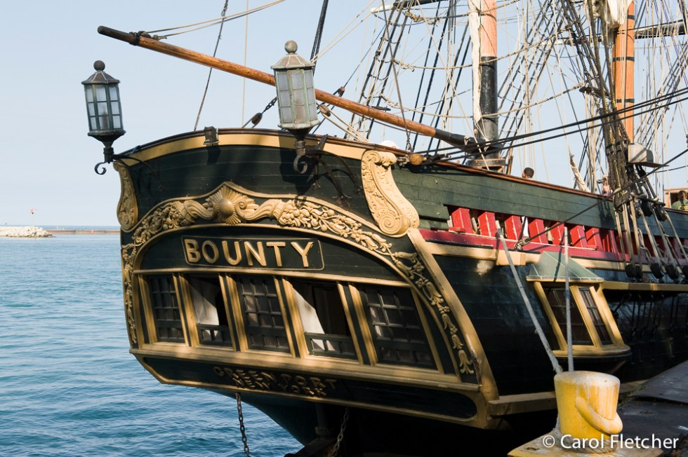 HMS Bounty docked in Port Washington WI