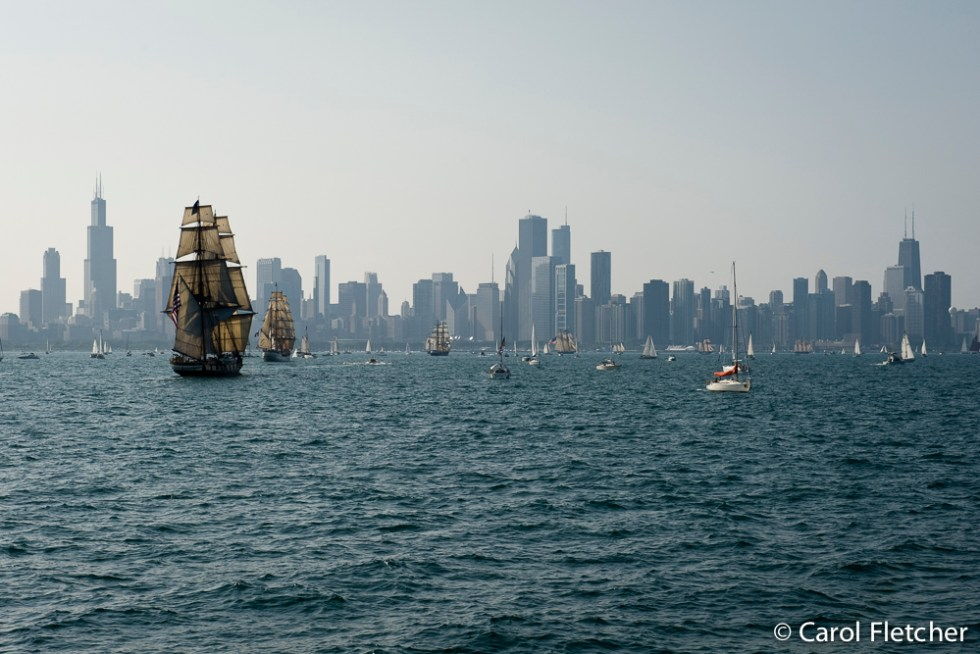 Parade of Tall Ships in Chicago