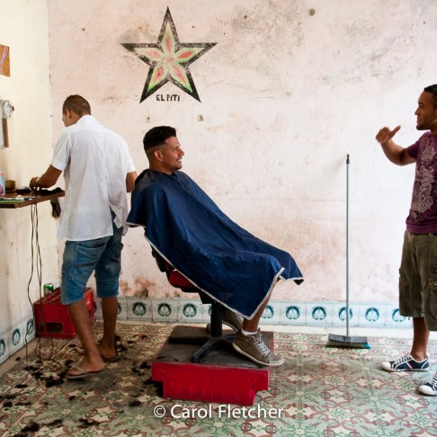 barber havana cuba cuentapropista entrepreneur
