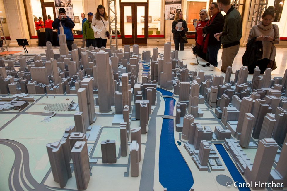 Chicago model miniature