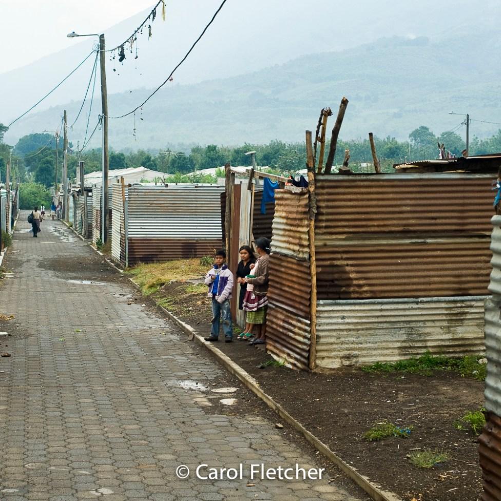 Guatemala village volcano duenas street poverty