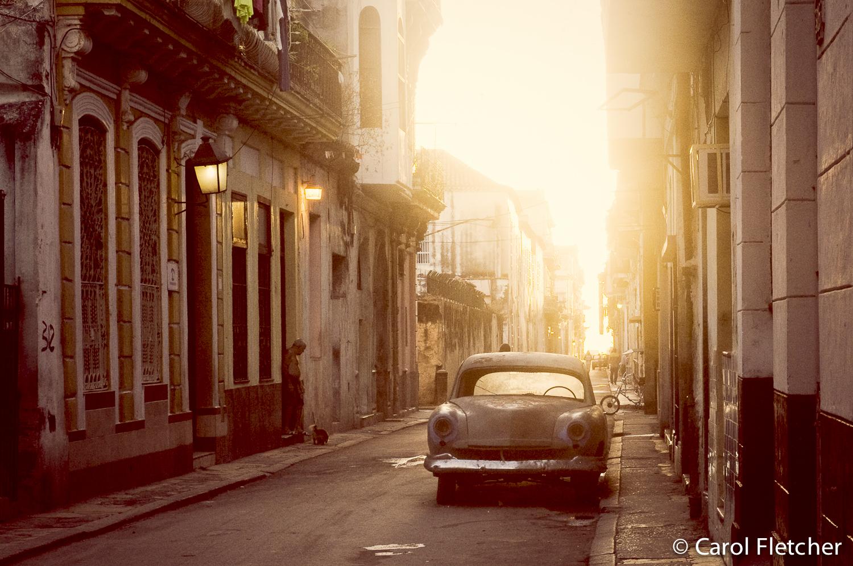Havana morning sun cuba