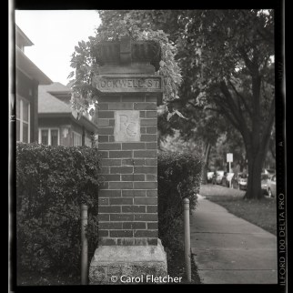 Ravenswood gardens chicago corner brick rockwell eastwood
